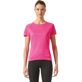 adidas Response Naiset Lyhythihainen juoksupaita , vaaleanpunainen